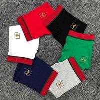Éthika Hommes Boxers Designers Sous-fonds Broderie Bee 100% coton Marque G Sderwear Shorts de sous-vêtements taille M-XXL, 5pcs avec boîte