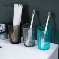 Transparent Stripe Cup Home Coffee Bathroom Wash Toothbrush ...