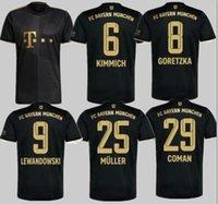 20 21 Bayern München Fussball Jersey Lewandowski Sane 2021 2022 Fußball Hemd Hernandez Goretzka Gnabry Camisa de Futebol Top Thailand Männer Größe S-4XL