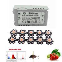 Light Beads 3w Full Spectrum Led 380-840nm +1pcs 6-10x3w 600mA Driver Diy 30w Grow For Plants Lamp