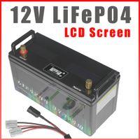 12 V LIFEPO4 PİL 200AH RV Kampçıları IP68 Su Geçirmez Golf Arabası Piller 3000 Çevrimler Off-Road Off-ızgara Güneş Enerjisi BMS ile