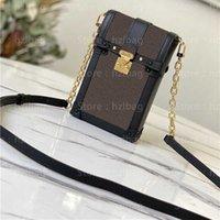 Vertical Tronco Pochette Designer Bolsa Essential Tronco Pequeno Bolsa S-Lock Mono Mini Bag Gram Luxurys Designers M63913