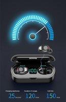 ePacket F9 Earphones Wireless Earphone Bluetooth V5.0 Earbuds Headphone LED Display With 2000mAh Power Bank Headset Microphone