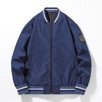 Giacca da uomo Bomber Hip Hop Patchwork Color Block Men Block Men Harojuku Streetwear Cappotti da baseball Giacche Unisex