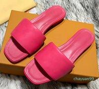 2021 Slipper Revival flache Maultiere Schuhe 2021SS Männer Frauen Rutschen Sandalen Designer Schwarz Rosa Orange Blau Braun Weiß Sommer Flip