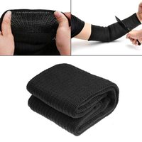 Elbow & Knee Pads Steel Wire Arm Protection Sleeve,Cut Resistant Anti Abrasion Safety Guard For Garden Kitchen Farm Work 1 Pair