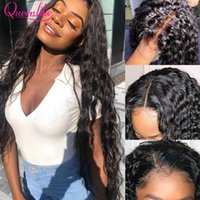 Lace Wigs 30 Inch Water Wave Closure Wig 250 Density Brazilian Remy Human Hair With Baby Wet And Wavy 13x6 Frontal