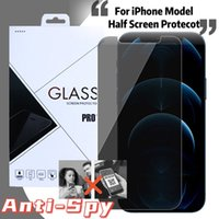 Privacy Anti-spy Tempered Glass Screen Protector For iPhone 13 12 11 Pro Max XR X XS 6 7 8 Plus With Retail Package