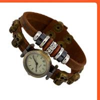 Yiwu Cuir Antique Populaire Nouveau Bracelet de cuir chevelu en alliage