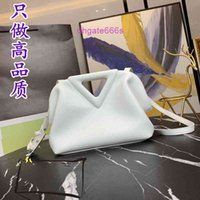 outlet venetas new bottegas cloud inverted triangle bag handbag female 2021 new foreign style high-end office workers leather single shoulde