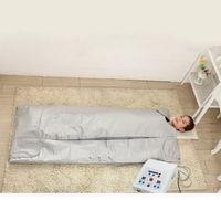 المحمولة البعيدة الأشعة تحت الحمراء الحر ساونا بطانية التخسيس التدفئة بطانية حقيبة الجسم العلاج التفاف التخسيس للماء معدات فقدان الوزن