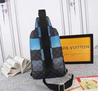 Louis Vuitton Postman Bag Mm Neverfull YSL Prada 40403 Moda Gucci Dauphine Bolsa Monograma Genuine Elegante Ombrobag Purse Atacado de Alta Qualidade Cours