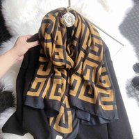 Autumn and winter new cotton hand women's foreign style travel holiday shawl beach towel silk scarf