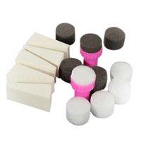 Nail Art Kits 1 Set 15 stücke Schwamm Stempel Stamper Shade Transfer Template Polnische Maniküre Werkzeug
