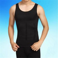 Мужские формирователи тела футболки мода тенденция живота корсет талии со спортом Spiritewears мужской для похудения Камизол корсет без рукавов фитнес-вершины