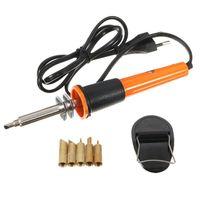 Accessori per utensili elettrici a mano 110V / 220V 30W Penna per saldatura elettrica Penna per legno Burning Bruciatore a matita con punte e spina UE