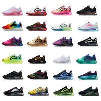 2021 Haute Qualité de l'air Hommes Femmes 720 KPu Chaussures de décontractation pour hommes Homme Coussin Coussin Fashion Luxe Chaussures en plein air Triple S Maxes Noir Plate-forme Chaussure Taille36-45