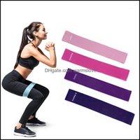 Équipements de résistance Fournitures Sports NettoyantsSisteSistance Bands En latex Entrée élastique Yoga pour Booty Hip Home Gym Crossfit Pilates Fit