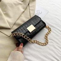 HBP Purse Handbag Wallet Crossbody bag Thick chain Crocodile designers personality fashion Women Bags quality handbags