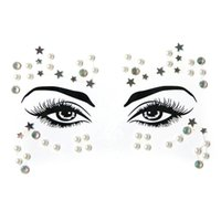 Gems Face Sticker New Acrylic Rhinestone Bindi Face Decoration Diamond Sticker DIY Hf7074