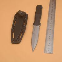 BenchMade Infidel 133 133BK Тактический нож с фиксированным лезвием D2 двойной край Открытый кемпинг Охота на охоту на выживание Карманная утилита EDC Tools Traving Noins