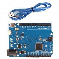 10pcs lot Leonardo R3 ATmega32u4 Development Board With USB Cable For Arduino DIY Starter Kit LED Modules