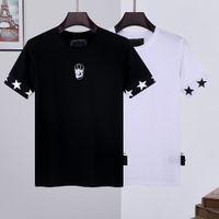 2021 Yeni PP Erkekler T Gömlek Bahar ve Yaz Ceketler Yüksek Sınıf Pamuk Kısa Kollu Yuvarlak Boyun Gömlek Tops Lüks Tişört Boyutu Boyutu: M L XL XXL 3XL Top01