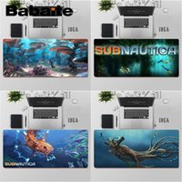 Mouse Pads & Wrist Rests Babaite High Quality Subnautica Silicone Large Small Pad To Game Keyboards Mat