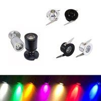 1W mini LED Downlight de plafond encastré Spots Spots Bulbe Cuisine Cuisine Plinthe Escalier Étape Étape Éclairage 12V Éclairage