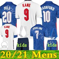 2021 Europeu Copa National Social Men + Kid Kit Kit Futebol Jerseys Kane Sancho Sancho 20 21 Dele Lingard Inglaterra Rashford Criança Juventude Camisa de Futebol