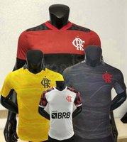 2021 2022 CR Flamengo Player Version Soccer Jerseys Gabi B.Henrique Gabriel B. Diego 21 22 Chemise serrée du football