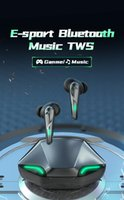 Gamer / Müzik Çift Modu TWS Oyun Kulaklıklar Bluetooth Kulaklık Kablosuz Kulaklıklar Spor Su Geçirmez Kulaklık Bass Stereo iPhone X 11 12 Samsung S20