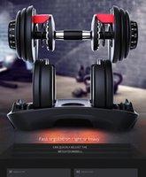 BOWFLEX SELECTTECH 552 Ayarlanabilir Dumbbells Erkek Fitness Ekipmanları Spor Ev Kol Eğitimi