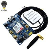 الدوائر المتكاملة SIM808 وحدة GSM GPRS GPS مجلس التنمية IPX SMA مع الهوائي Raspberry Pi دعم 2G 3G 4G 4G بطاقة SIM