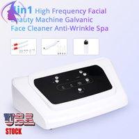 Multi-funcional Equipamento de beleza 4 em 1 Galvânica Magia Luva Microcurrent Máscara Facial Bio Estimulação Face Lift Skin Machine