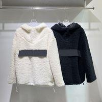 21FW Damen Hoodies Designer Lamm Pullover Mode mit klassischen Buchstaben Warme Herren Hoodie Hohe Qualität Lady Top Size S-L