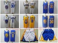 Mens Golden.СостояниеВоиныRembeble Jersey Klay 11 Thompson Stephen 30 Curry Баскетбол Шорты Баскетбола Майки синий черный