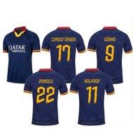 2019 als Roma Drittel blau Dzeko Perotti Pastore Zaniolo Soccer Jerseys 19 20 Totti de Rossi Rom Football Hemd 2020 Uniform