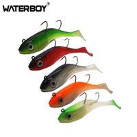 Waterboy 20 cm 170g Büyük Balık Yumuşak Balıkçılık Cazibesi Kurşun Başkanı Jig Silikon Swimbait Wobblers Pike Bass Sazan Yem