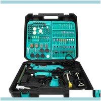 Power Tools Home & Gardendremel 2Pcs Profession Engraver Dril Hine Engraving Pen Grinder Mini Electric Diy Drill Rotary Tool Eu 201226 Drop