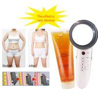 Slimming Gel and Ultrasonic Cavitation Radio Frequency Slimming Massager Anti Cellulite Massage Fat Burner Weight Loss MachineRa