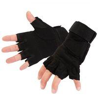 Xinda Alta Qualità Arrampicata per esterni Rappellimento Tactical Tactical Guanti Guanti in pelle Speciale Semi-Finger Guanti da equitazione APPACKET POST
