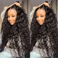 Water Wave HD Lace Frontals Wig Pre Plucked 13x6 front Curly Human HairWig Brazilian Wet And Wavy 360Lace Frontal Wigs Remy 5x5 closure full lacewig hairline