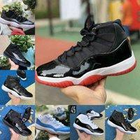Air Jordan 11 retro jordans Nike VENDER 2021 PANTONE CRED 11 11s Zapatillas de baloncesto 25 aniversario Espacio de atasco Gamma Blue Pascua Concord 45 Casquillo