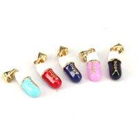15 pcs, pendentif de la pilule de bijoux de mode, capsules pendentif en émail pendentif de cuivre bijoux 210720