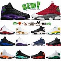 Jumpman 13 13s Basketballschuhe Rot Flint Hyper Royal Court Lila Chicago Lucky Green DMP Spielplatz Herren Trainer XIII Sport Sneakers Mit Box Geschenke Gift
