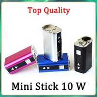 Mini Stick Kit 1050mah Built-in Battery 10w Max Output Variable Voltage Mod 4 colors with USB Cable eGo Connector Fast Send
