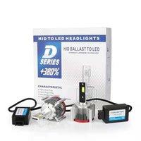 ペアカーライトD1S D4S D2S LEDカンバスヘッドライトD3S D1R D2R D3R D4R D2R D3R D4R D5S D8S電球70W 17200LMキットHID変換ランプヘッドライトを置き換える