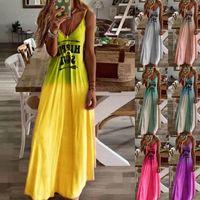 Designer High Quality Ladies Dress Pencil Geometric Slim Formal Summer Female Letter Printing Factory Direct Sales