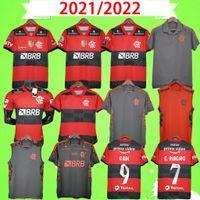 Flamengo Futbol Formaları 2021 2022 Adam Kadın Gömlek Diego E.Ribeiro Gabriel B. Gabi Futbol Forması Pedro Eğitim Takım Elbise Camisa Mengo 21/22 Yelek Oyuncu + Hayranları Sürüm